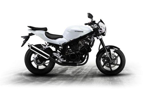 Hyosung GT 125 P 125 White