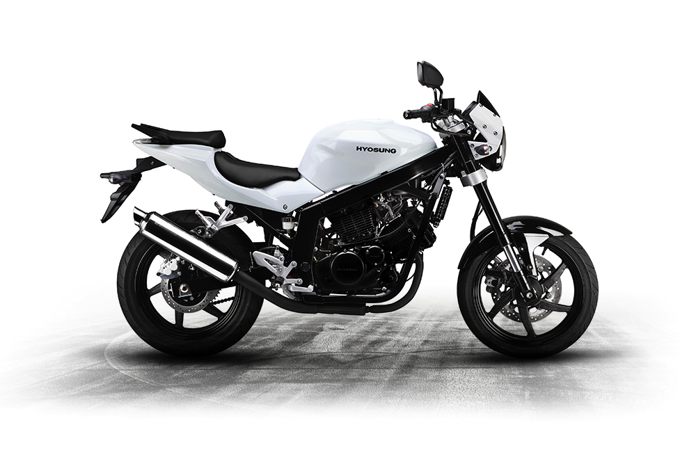 hyosung gt 125 p 125cc lowest rate finance around uk delivery. Black Bedroom Furniture Sets. Home Design Ideas