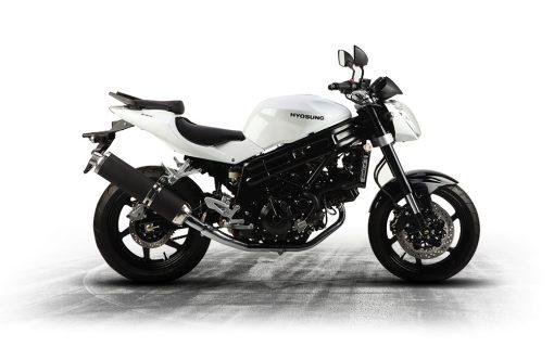 Hyosung GT 650 P 650 White