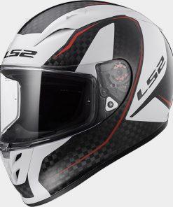 LS2 Arrow C EVO Fury Carbon White