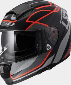 LS2 Vector Vantage FT2 Matt Black Red