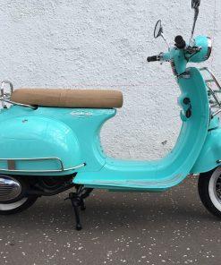 AJS Modena 125 125 Aqua