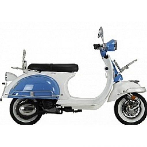 AJS Modena 125 125 Blue/White