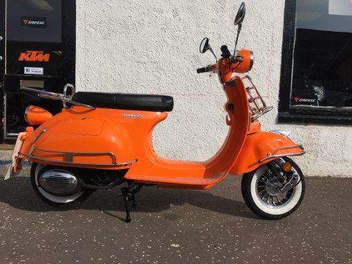 AJS Modena 125 125 Orange