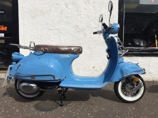 AJS Modena 125 125 Royal Blue