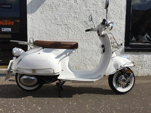 AJS Modena 125 125 White