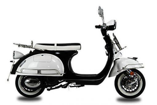 AJS Modena 125 125 White/Black