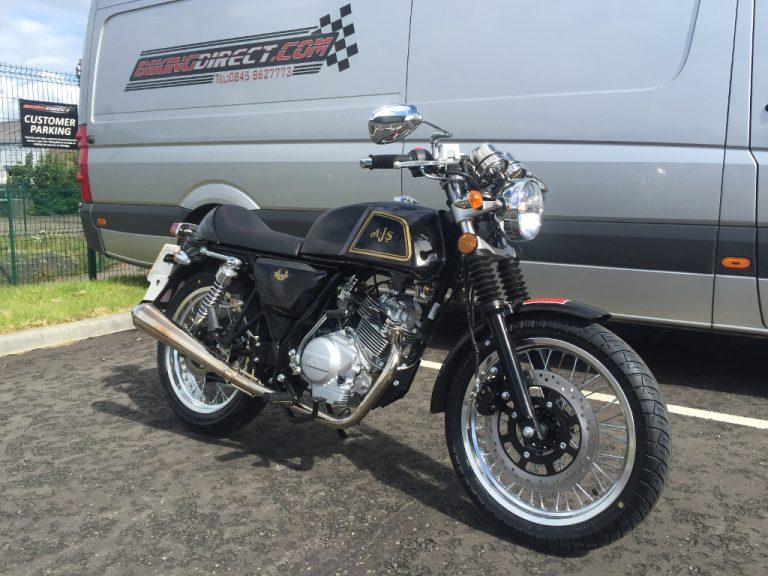 AJS Cadwell Efi 125 125 Black/Gold