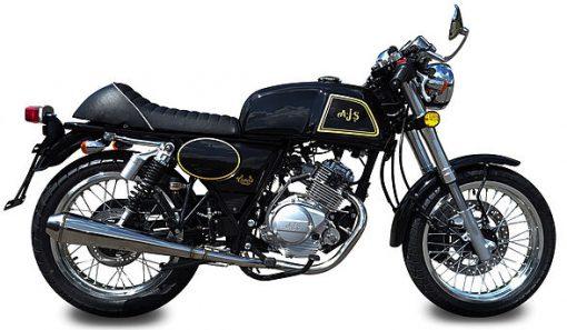 AJS Clubman Efi 125 125 Black/Gold