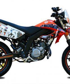 AJS JSM 50 50 Orange