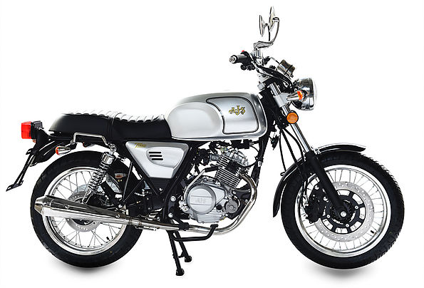 AJS Tempest Roadster 125 125 Silver Fox