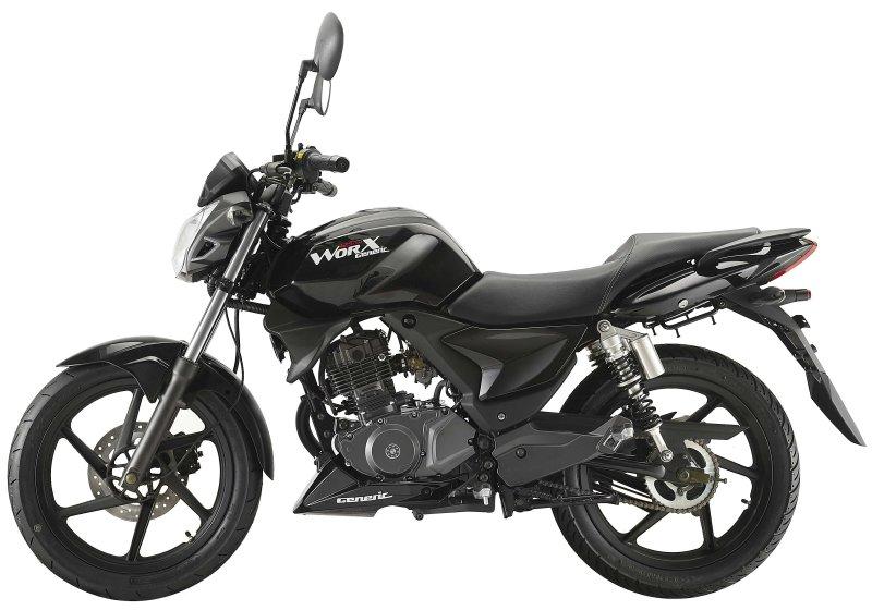 KSR Worx 125 125 Black