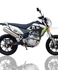 Sinnis Apache SM 125 125 Chrome/Green