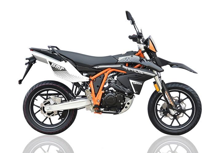 Sinnis Apache SMR 125 125 Black