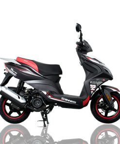 Sinnis Harrier 125 125 Sports Black/Red