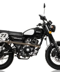 Sinnis Scrambler 125 125 Black