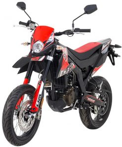UM DSR Supermotard 125 125 Black/Red