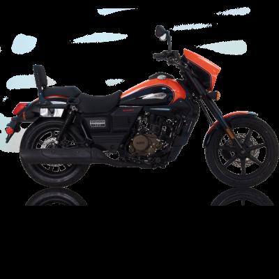 UM Renegade Sport S 125 125 Black/Orange