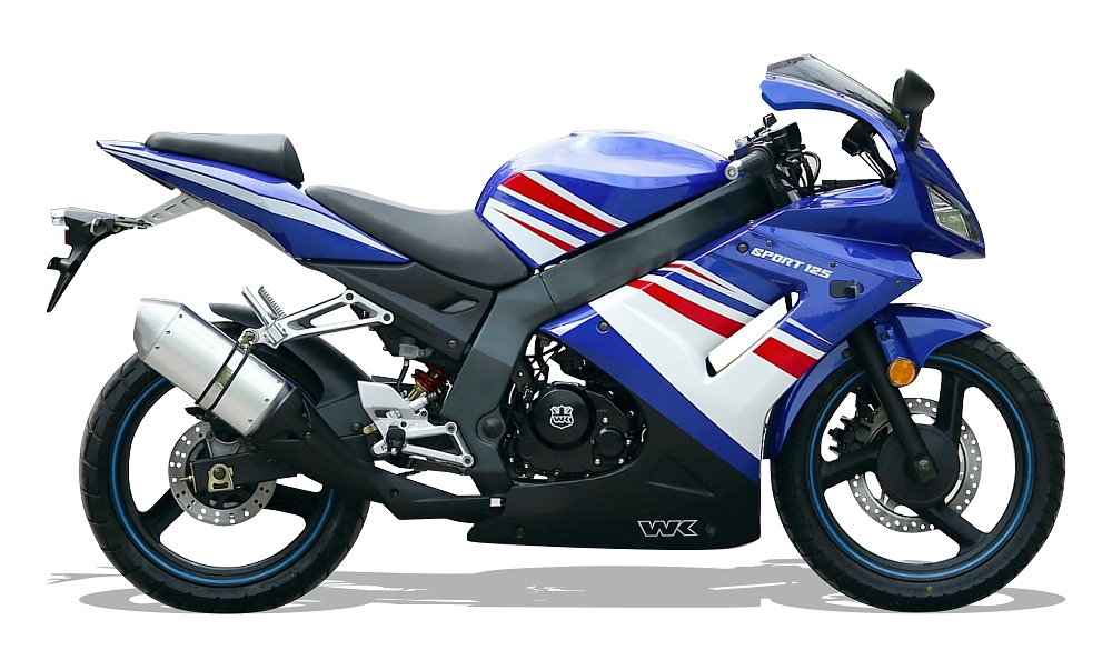 WK Sport TTR 125 125 Blue