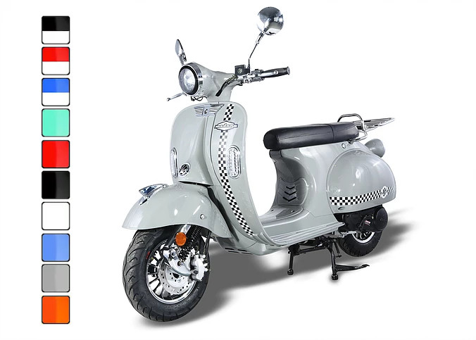AJS Modena Grey & Chequered