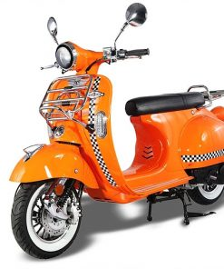 AJS Modena Orange & Chequered