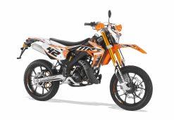 Rieju MRT 50 Pro SM - Orange