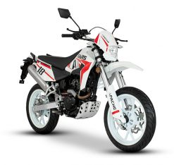 Sinnis Apache White Red 2019 Model Right Side Front