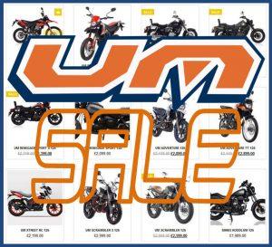 UM Motorcycles Sale