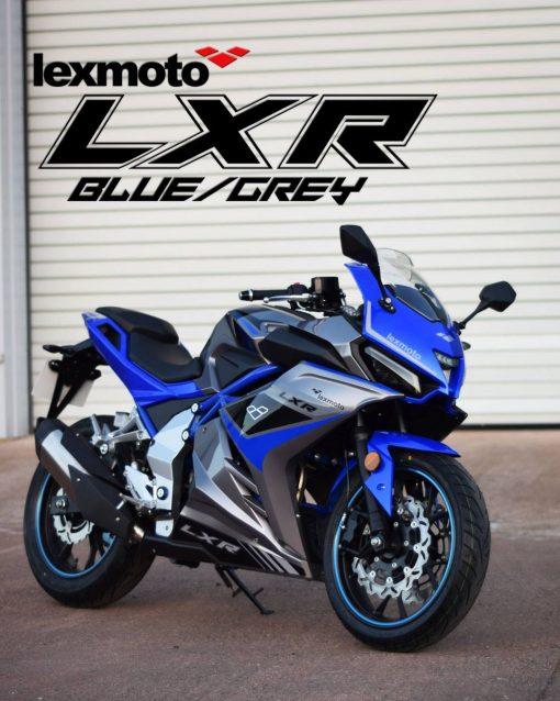 Lexmoto LXR - Blue Grey