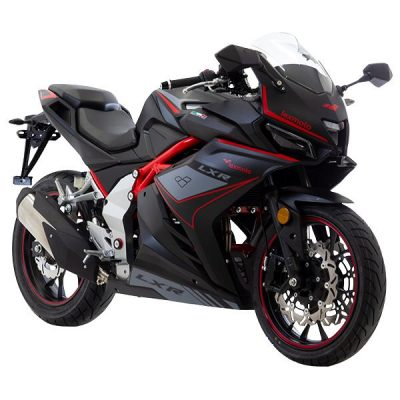 Lexmoto LXR125 Black -Front Right