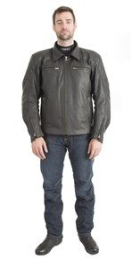 RST CRUZ MENS LEATHER JACKET 1052