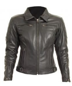RST CRUZ LADIES LEATHER JACKET 1053