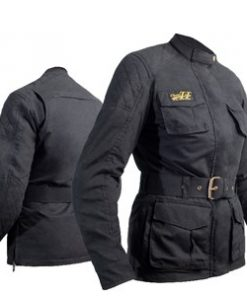 RST WAX 3/4 CE LADIES TEXTILE JACKET 2938