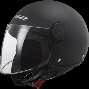 LS2 Sphere Solid Black Solid Black