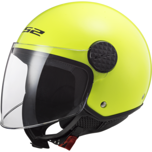 LS2 Sphere Solid H-V Yellow Solid H-V Yellow