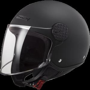 LS2 Sphere Lux Solid Matt Black Solid Matt Black