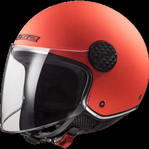 LS2 Sphere Lux Solid Matt Fluo Orange Fluo Orange