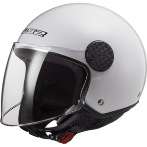 LS2 Sphere Lux Solid White Solid White
