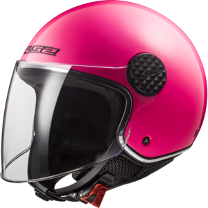 LS2 Sphere Lux Solid Fluo Pink Fluo Pink