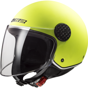 LS2 Sphere Lux Solid Matt H-V Yellow Matt H-V Yellow