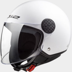LS2 Sphere Solid White Solid White