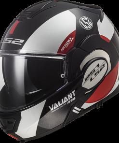Valiant Avant White Black Red