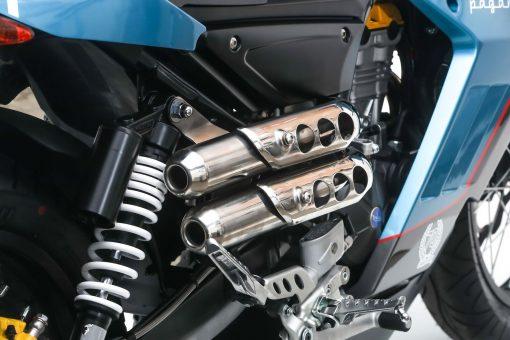 FB Mondial Pagani 1948 125cc Exhaust system