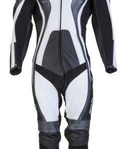 Spada Leather Suit 1 piece Curve Black/Grey/White