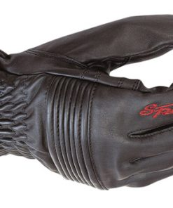 Spada Leather Gloves Freetime Ladies Black