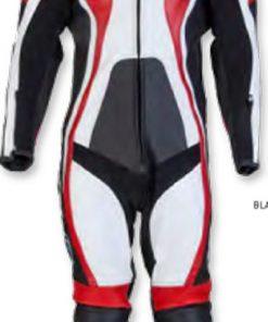 Spada Leather Suit 1 piece Curve Black/Red/White