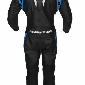 Spada Leather Suit 1 piece Curve Evo Black/Blue/White