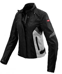 Spidi IT H2out Flash Lady Jacket Black Grey White Special Order CE
