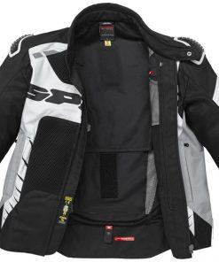 Spidi IT Warrior Net Jacket Black/White-Special Order