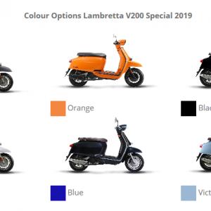 Lambretta V200 Special Colours